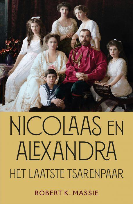 Boek - Nicolaas en Alexandra - Robert K. Massie